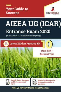 Edugorilla AIEEA UG (ICAR) EXAM 2020 | 10 Mock Test + Sectional Test For Complete Preparation