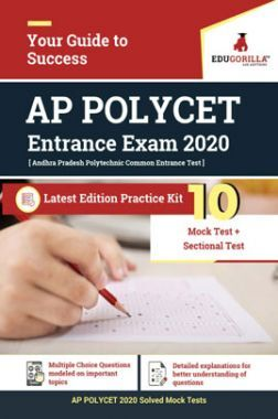 Edugorilla AP POLYCET 2020   10 Mock Test + Sectional Test + 1 Previous Year Paper (2017)