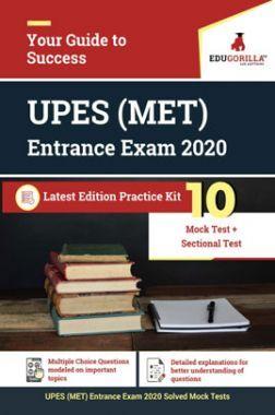 Edugorilla UPES (MET) Management Entrance Test 2020 | 10 Mock Test + Sectional Test