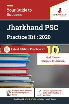 Edugorilla Jharkhand PSC (JPSC) 2020   10 Mock Test For Complete Preparation