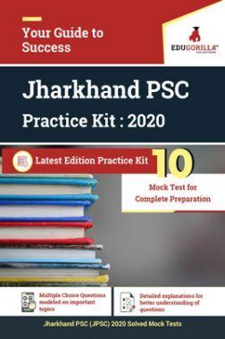 Edugorilla Jharkhand PSC (JPSC) 2020 | 10 Mock Test For Complete Preparation