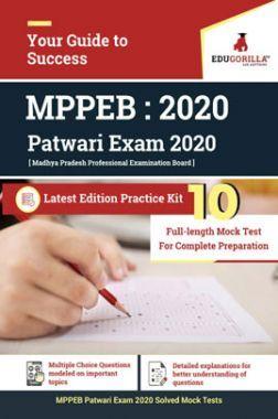 Edugorilla MPPEB Patwari Exam 2020   10 Full-length Mock Test For Complete Preparation