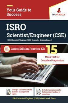 Edugorilla ISRO CSE (Computer Science) Scientist/Engineer   15 Mock Test