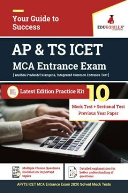 Edugorilla AP & TS  ICET for MCA Entrance 2020 | 10 Mock Test + Sectional Test + Previous Year Paper