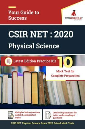 Edugorilla CSIR NET Physical Science Exam 2020   10 Mock Test