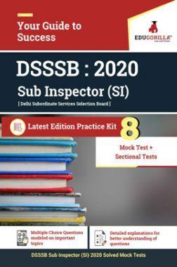 Edugorilla DSSSB Sub Inspector (SI) | 8 Mock Test