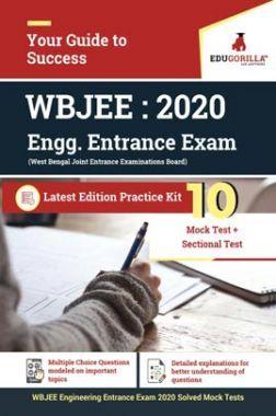 EduGorilla WBJEE Engineering Entrance 2020   10 Mock Test