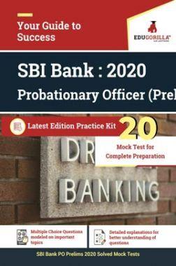 EduGorilla SBI Bank PO Prelims 2020 | 20 Mock Test