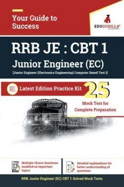 EduGorilla RRB Junior Engineer CBT 1 (EC) 2020 | 25 Mock Test