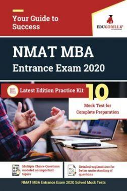 EduGorilla NMAT MBA Entrance Exam 2020   10 Full-length Mock Test
