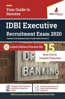 EduGorilla IDBI Executive Recruitment Exam 2020 | 15 Mock Test