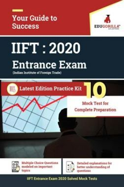 EduGorilla IIFT (Indian Institute of Foreign Trade) Entrance Test 2020    10 Mock Test + Sectional Test