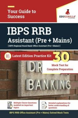 EduGorilla IBPS RRB Assistant (Pre+Mains) Exam 2020| 30 Mock Tests