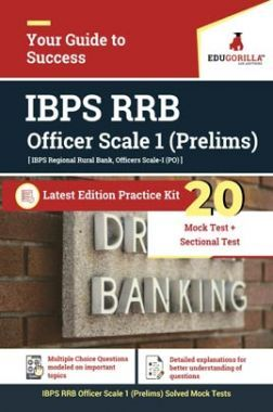 EduGorilla IBPS RRB Officer Scale 1 Prelims Exam 2020 | 20 Mock Test + Sectional Test + Previous Year Paper