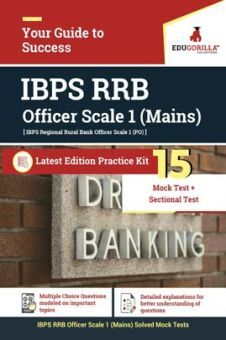 EduGorilla IBPS RRB Officer Scale 1 Mains Exam 2020 | 15 Mock Test + Sectional Test