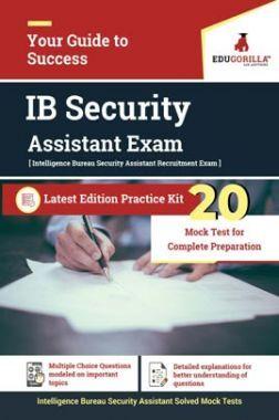 EduGorilla IB Security Assistant Recruitment Exam | 20 Mock Test