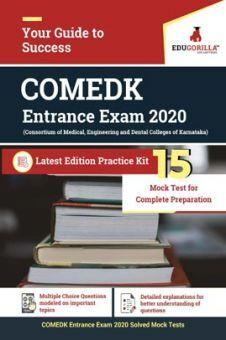 EduGorilla COMEDK Entrance Exam 2020   15 Mock Test