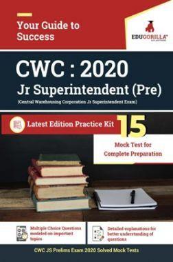 EduGorilla Central Warehousing Corporation (CWC) Prelims Recruitment Exam | 15 Mock Test