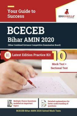 EduGorilla BCECEB Bihar AMIN 2020   10 Mock Test + Sectional Test