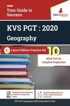 EduGorilla KVS PGT (Geography) 2020 | 10 Mock Test For Complete Preparation