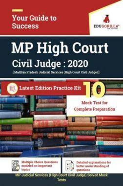 EduGorilla Madhya Pradesh Judicial Services (MP Civil Judge) 2020 | 10 Full-length Mock Test