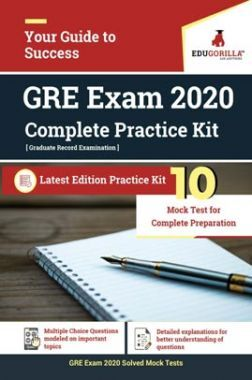 EduGorilla GRE Exam 2020 | 10 Mock Test For Complete Preparation