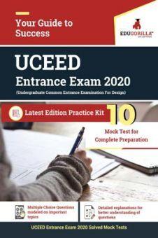 EduGorilla UCEED Entrance Exam 2020 | 10 Mock Test For Complete Preparation