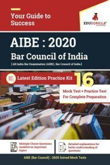 EduGorilla All India Bar Examination (Bar Council) 2020   10 Mock tests + 6 Practice Tests