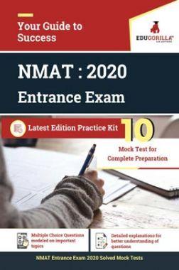 EduGorilla NMAT MBA Entrance Exam 2020 | 10 Mock Test For Complete Preparation