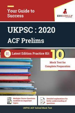 Edugorilla Uttarakhand PSC (UKPSC) Prelims - Assistant Conservator of Forest (UKPSC ACF) 2020   10 Mock Test   With Complete Solution