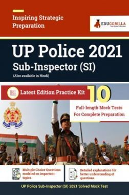 UP Police SI 2021 | Latest Edition Practice Kit 10 Full Length Mock Test For Complete Preparation