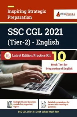 SSC CGL 2021 (Tier 2) English   10 Mock Tests For Preparation of English