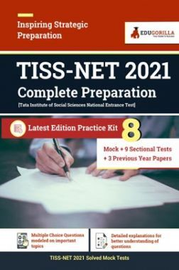 TISS NET 2021 Complete Preparation | 8 Mock Tests + 9 Sectional Tests + 3 Previous Year Papers