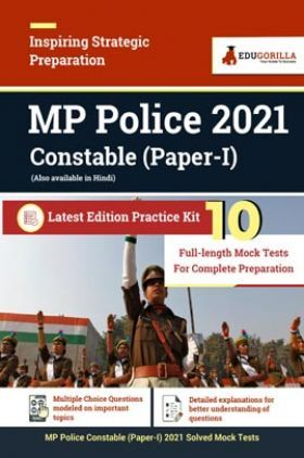 MP Police 2021 Constable (Paper I) | 10 Full Length Mock Test For Complete Preparation