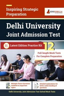 Delhi University Joint Admission Test | 12 Full Length Mock Tests For Complete Preparation