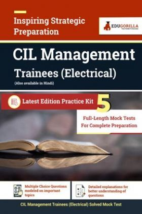 CIL Management Trainees (Electrical) 2021 | 5 Full-length Mock Tests for Complete Preparation
