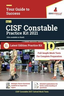 CISF Constable 2021 | 10 Mock Tests For Complete Preparation