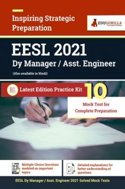 EESL Deputy Manager / Assistant Manager Recruitment Exam 2021 | 10 Mock Test For Complete Preparation