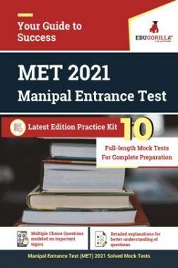 Manipal Entrance Test (MET) 2021 | 10 Mock Tests | Latest Edition Practice Kit