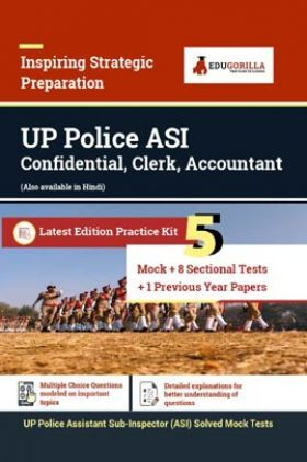 UP Police ASI (Assistant Sub Inspector) Recruitment Exam | Solved 1600+ Objective Questions
