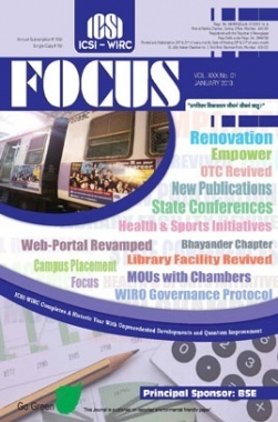 e-Focus January 2013 by CS
