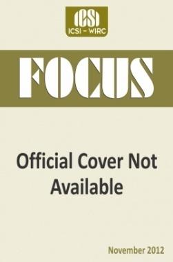 e-Focus November 2012 by ICSI