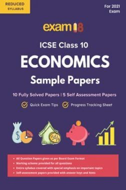 Exam18 ICSE Solved Sample Papers, Economics, Class 10 (Reduced Syllabus) (For 2021 Exam)