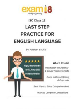 Exam18 ISC Class 12 English Language Last Step Practice Package
