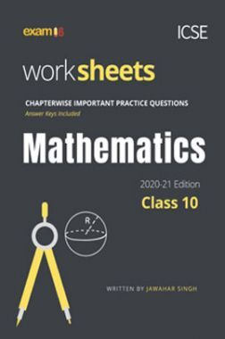 Exam18 ICSE Maths Chapterwise Practice Workbook For Class 10