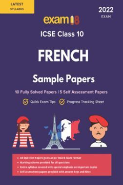 Exam18 ICSE French Solved Sample Papers For Class 10 Solved 2022 Exam
