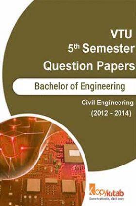 VTU QUESTION PAPERS 5th Semester Civil 2012-2014