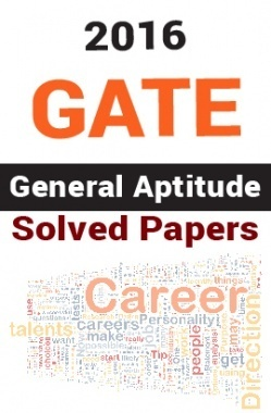 GATE 2016 General Aptitude Solved Papers