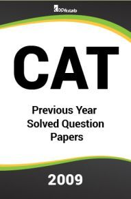 CAT Previous Year Solved Question Papers  2009