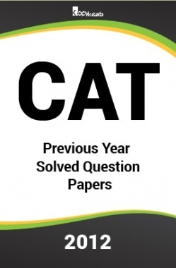 CAT Previous Year Solved Question Papers  2012